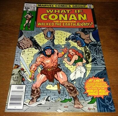 """Marvel Comics / What If ? #13 * NM 9.2 """", Conan Walked the Earth Today"""""""