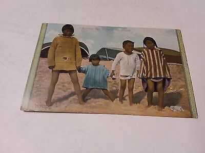 Vintage Postcard - A Summer Day In The Actic,  Alaska 1923