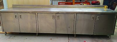 """Used 36"""" x 144""""  Stainless Steel Work table"""
