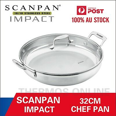 NEW Scanpan Impact Covered Chef Pan 32CM, RRP $ 189. 100% Genuine!