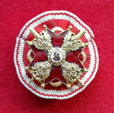 Imperial Russia Miniature of the Order of St. Stanislaus