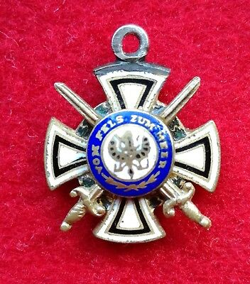 Germany Hohenzollern - Miniature Order of the House of Hohenzollern with swords