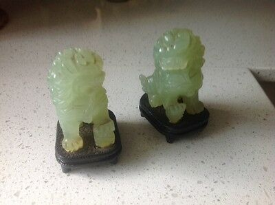 jade protection lion