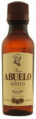 Ron Abuelo Añejo Reserva Especial 5 Year Old Panama Rum 50mL x 12 bottles