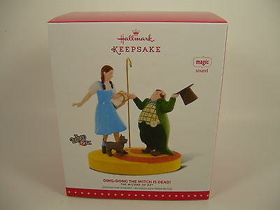 Hallmark 2015 Wizard of Oz Ding Dong Witch is Dead Ornament