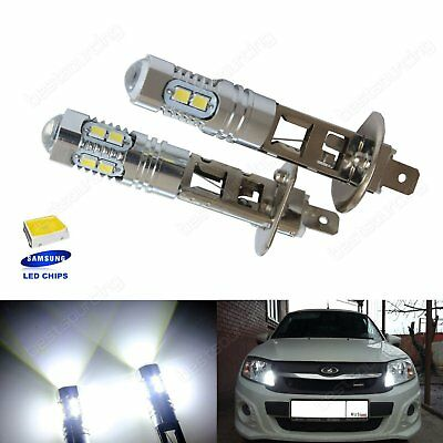 2 Ampoule H1 SAMSUNG 10 SMD LED Blanc Xenon DRL Feux Anti Brouillard Phare Lampe
