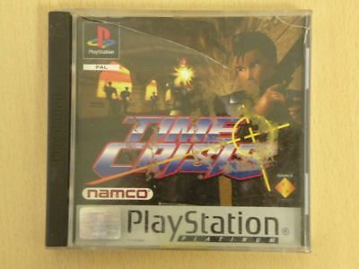 Sony Playstation 1 Game Case * TIME CRISIS - PLATINUM * Case ONLY Retro L1820