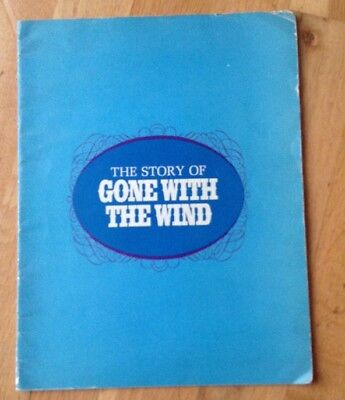 the story of GONE WITH THE WIND brochure