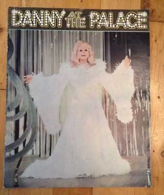 DANNY AT THE PALACE theatre programme