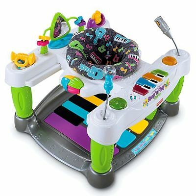 EUC! Fisher-Price Little Superstar Step 'n Play Piano Activity Station