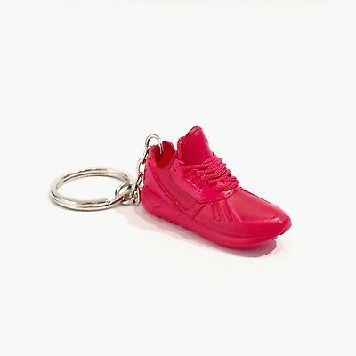 madxo 3D mini sneaker keychain TUBULAR RUNNER RED 1 6 real laces adidas 35- 9cf87fb4b