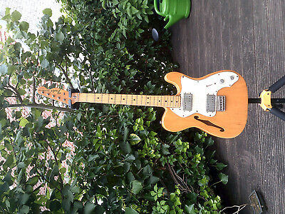 "Guitare fender telecaster ""Thinline"" 1972"