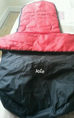 Joie stroller cosy toes