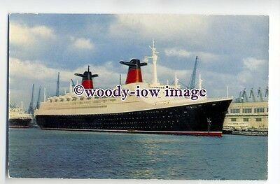 LS0164 - French Line CGT Liner - France , built 1961 - postcard