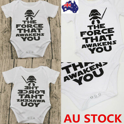 Newborn Infant Baby Boy Girl Cotton Romper Bodysuit Jumpsuit Kids Clothes Outfit