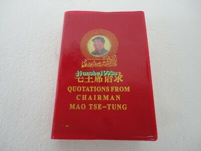 English & Chinese Version Quotations From Chairman Mao Tse Tung Little Red Book