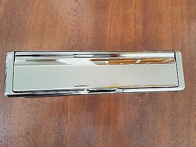 """Quality Chrome 12"""" Letter Plate"""