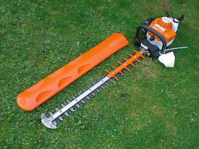 2017 Stihl HS82 RC Double Sided Swivel Handle Petrol Hedge Trimmer hs81r hs81t