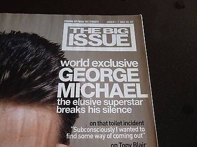 George Michael The BIG ISSUE  World Exclusive 2004 Rare New condition