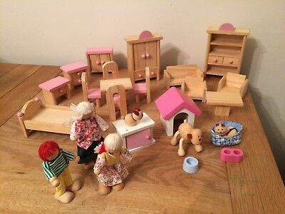 Dolls House Figures Elc Picclick Uk