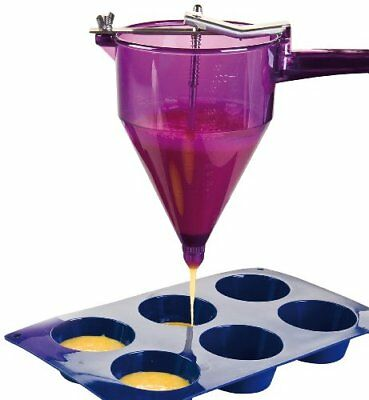 ibili Pastry Decorating Gun Set, Violet, 1 Litre
