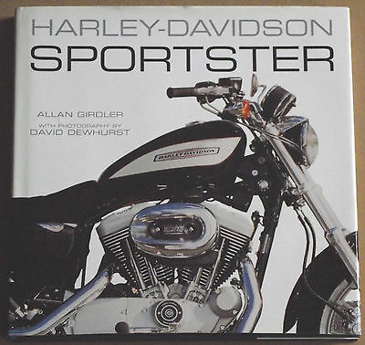 Harley Davidson Sportster By Allan Girdler Hard Back Book