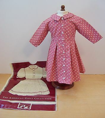 American Girl ADDY MEET DRESS PROTOTYPE New with Pleasant Co Bag
