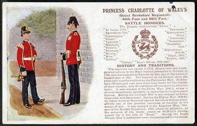 ROYAL BERKSHIRE REGT. History & Traditions No.82.(Revert to 1st picture) 1912