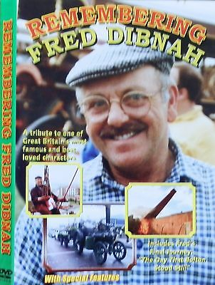 REMEMBERING FRED DIBNAH - DVD - steeplejack,steam engines,rally, fairs