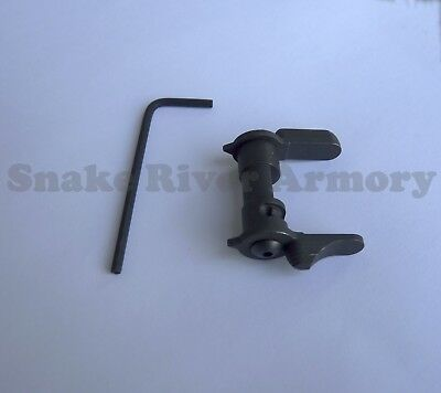 Ambi Ambidextrous Safety Selector. Made In USA. Scalloped
