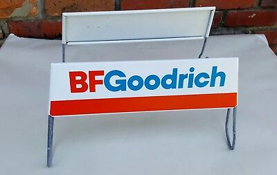 Vtg NOS B.F. Goodrich Tire Display Stand Old Metal Auto Parts Store Advertising