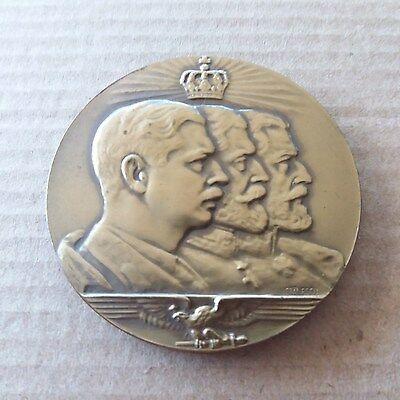 Romanian Medal 3 Kings  1933 By Fassler