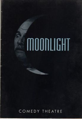 "Anna Massey ""Moonlight"" London Playbill 1993 Ian Holm"