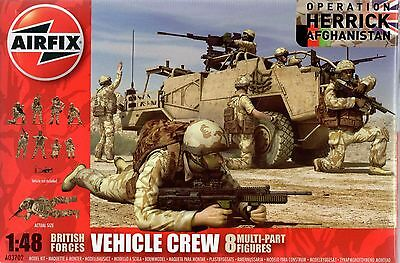 Airfix 3702 Vehicle Crew  British Forces