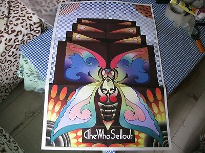 The Who Sell Out Only Posters !!! For Lp  Superb!!!!!!!!!!!!!