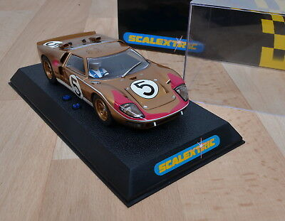 Scalextric C2465 Slotcar Ford GT MKII / Le Mans ´66 / unbespielt / OVP / 1:32