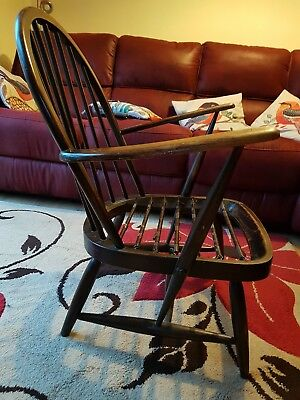 Early Ercol Sprung Chair