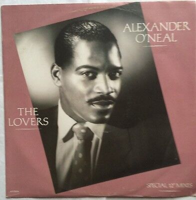 "Alexander O'Neal - The Lovers Special 12"" Mixes - Tabu Records 12"" Single"
