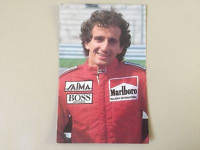 Postcard: Alain Prost (F) F1 Unused