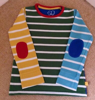 Little Bird by Jools Oliver Multicolour striped long sleeve top age 4-5 years