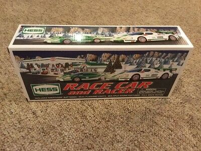 2009 Hess Race Car And Racer New In Box Mint In Box Never Played With