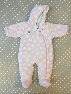 Next Baby Fleece Snowsuit 3-6 BNWT