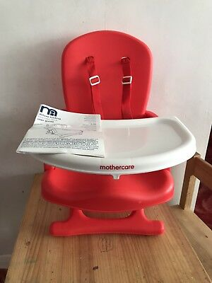 Mothercare Deluxe Folding Booster Seat