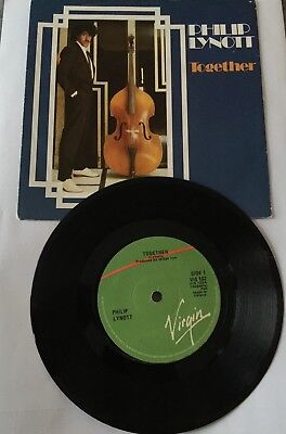 "Philip Lynott -Together 7"" Irish Pressing With Picture Sleeve"