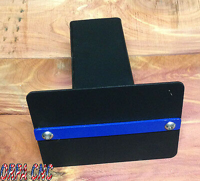 Thin Blue Line Or Ribbon hitch cover show your support for the police