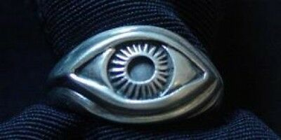 LOOK Celtic Sterling Silver .925 Protection Evil Eye Ring
