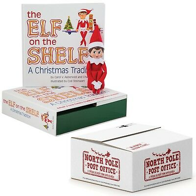 The Elf on the Shelf® Light Skinned Girl with FREE North Pole Box and Gold Seal