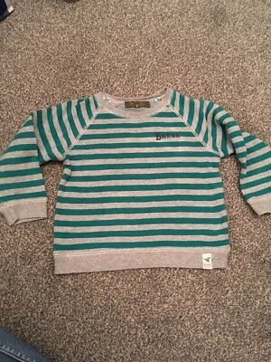 Boys Baby Baker Ted Baker Jumper Top Boys Age 2-3 Years Toddler