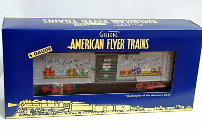 American Flyer 6-48825 2012 Holiday Christmas Boxcar NEW