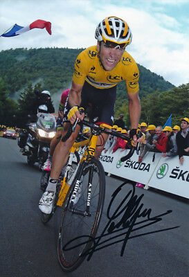 Tony Gallopin - Autographed - Signed 8X12 inches 2014 TDF Lotto Belisol Photo